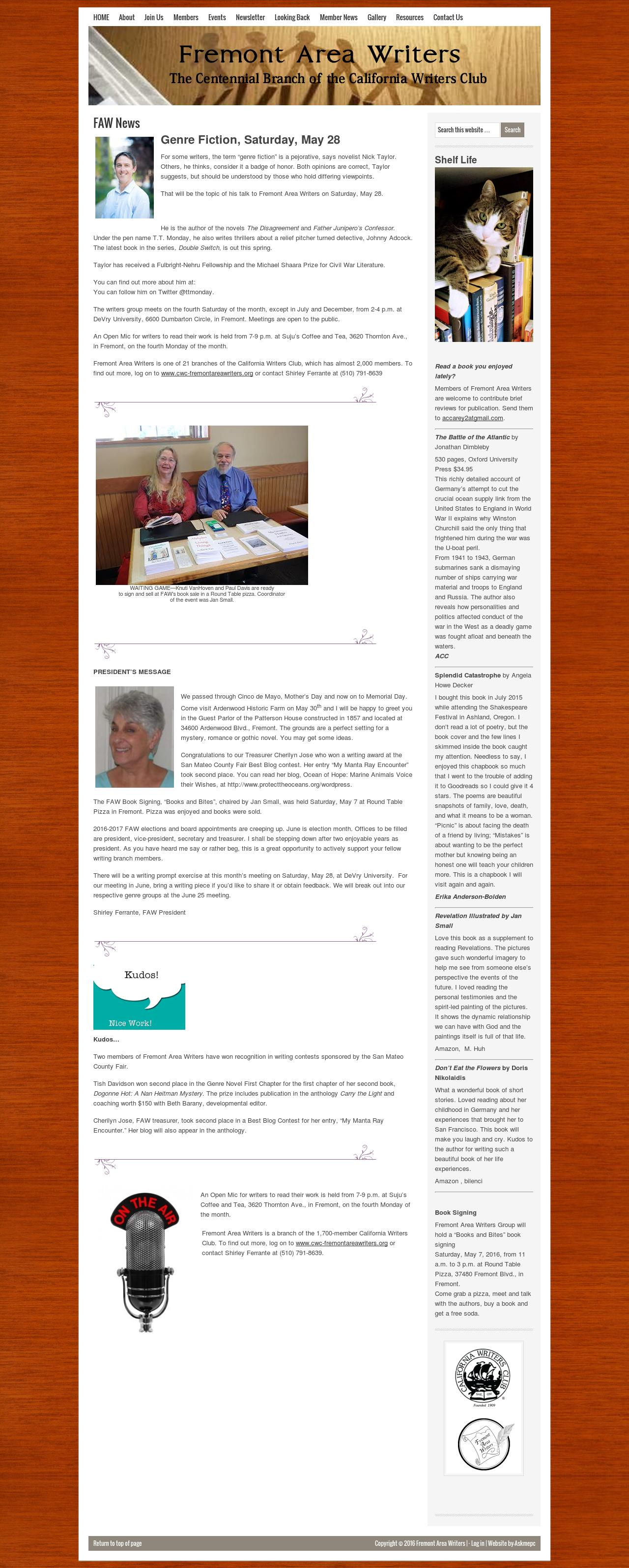 back page fremont